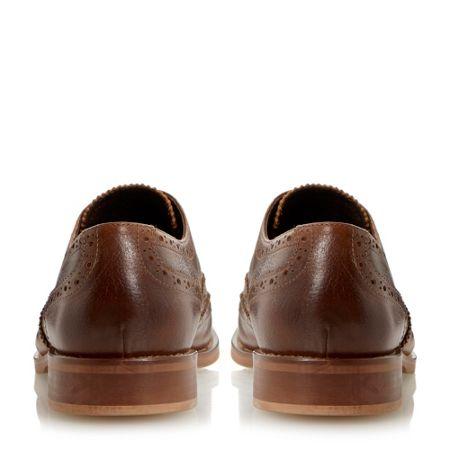 Bertie Byron leather casual lace up brogues