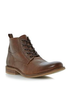 Bertie Cadet lace up toecap boots