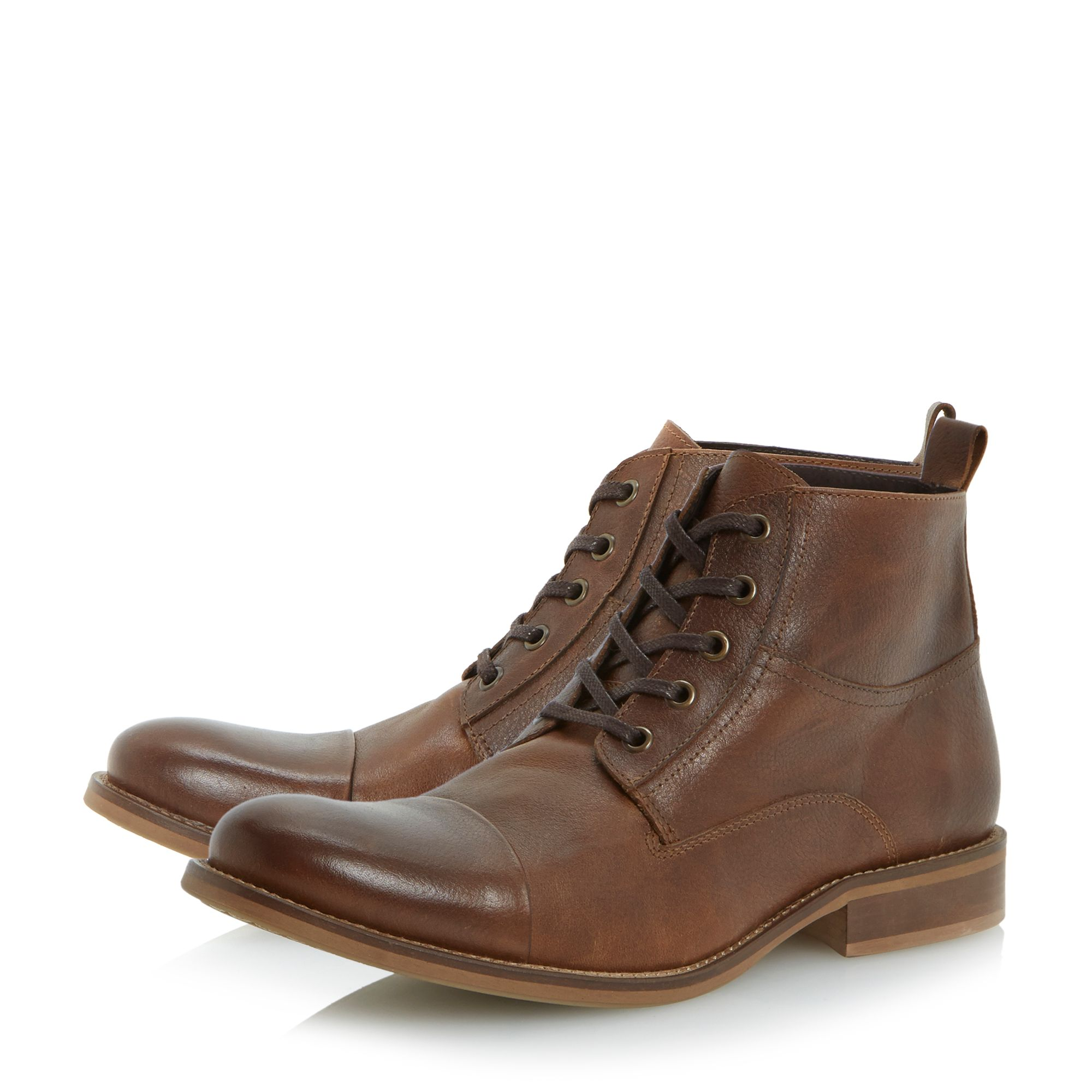 Cadet toecap lace up boots