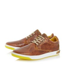 Table top lace up colour pop trainers