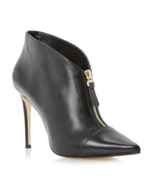 Asia Zip Heeled Shoe Boot