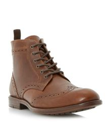 Collection lace up casual brogue boots
