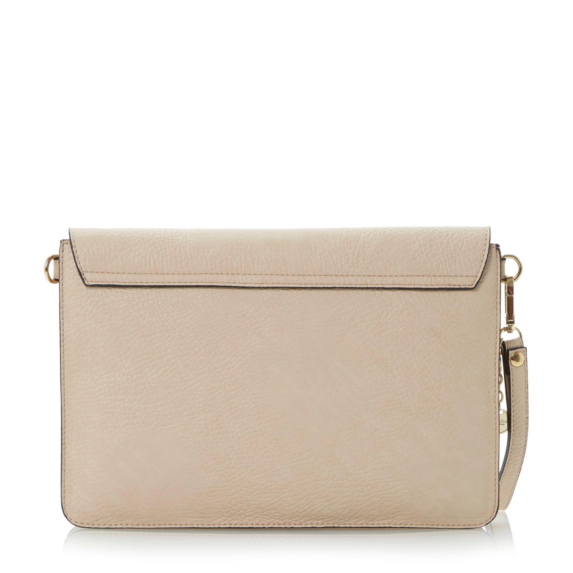 Enlightening envelope bar clutch bag