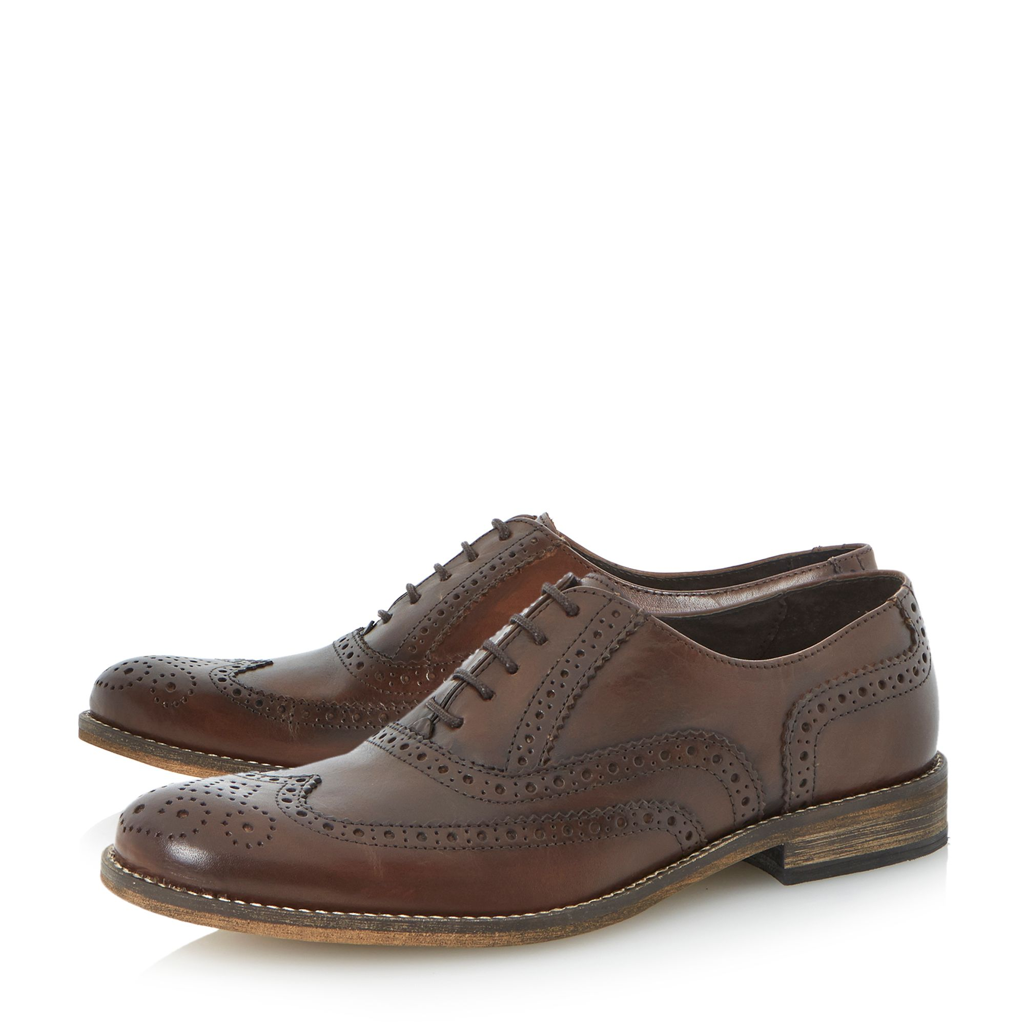Braker oxford lace up brogues