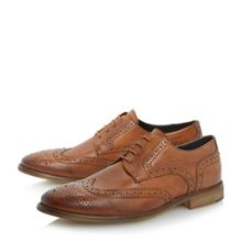 Aston plain lace up brogues