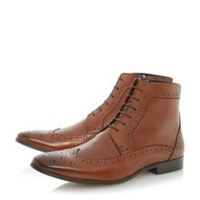 Minister lace up smart brogue booots