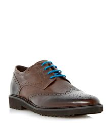 Bafta lace up wingtip polido gibson shoes