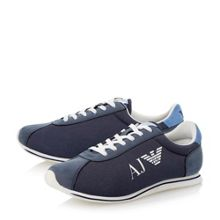 Mixed Material Casual Trainers