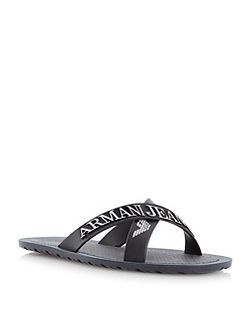 Crossover Casual Flip Flops