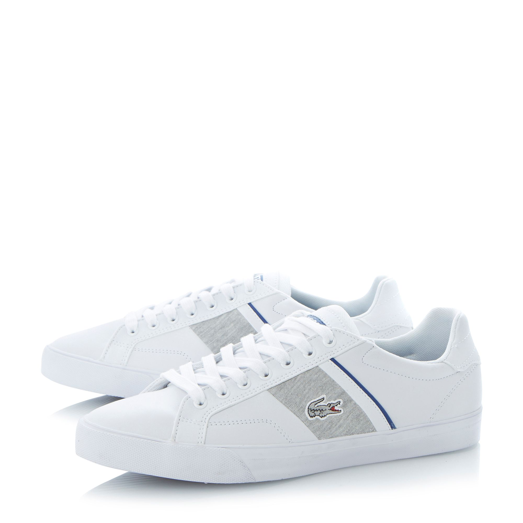 Fairlead lace up trainers