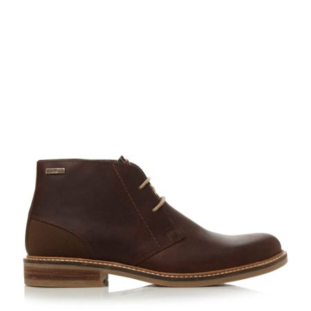 Barbour Redhead Plain Toe Lace Up Chukka Boots