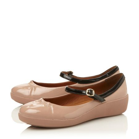 FitFlop F-pop mary jane ballerina shoes