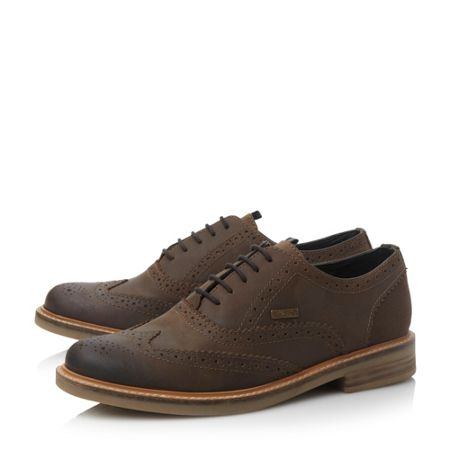 Barbour Redcar Casual Lace Up Brogues