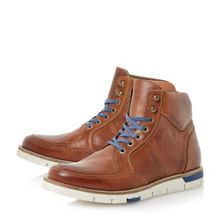 Cedric wedge sole colour pop boots