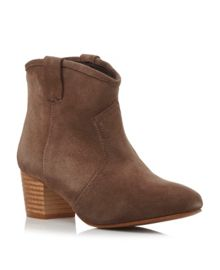 Purdy Style Pull On Ankle Boot