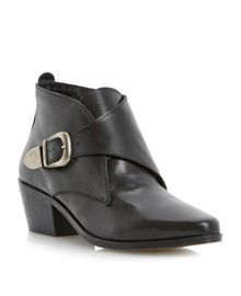 Peaches Single Buckle Ankle Boot