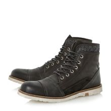 Crossword Lace Up Casual Desert Boots