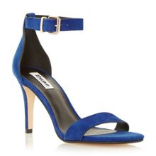Mara suede square toe two part sandals