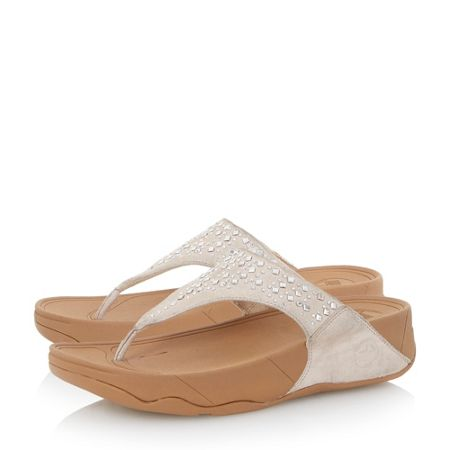 FitFlop Novy studded toe post sandal