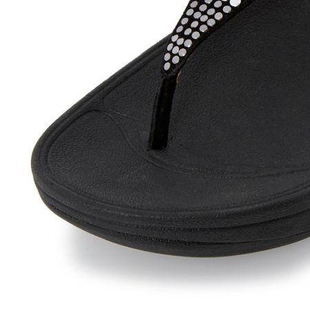 FitFlop Aztek chada embellished toe post sandals