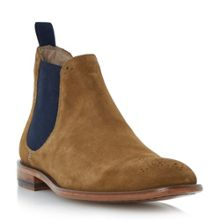 Silsden Slip On Casual Chelsea Boots