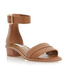 Dune Jools ankle strap leather sandals