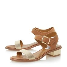 Jodey two part block heel sandals