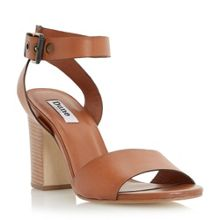 Jalexa 2 part stacked heel sandals
