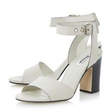 Dune Jalexa 2 part stacked heel sandals