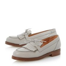 Geffie lace-up fringed loafer