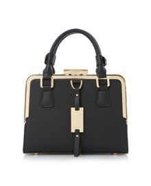 Dinidiana small metal top handbag