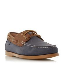 Bienne ii colour block boat shoes