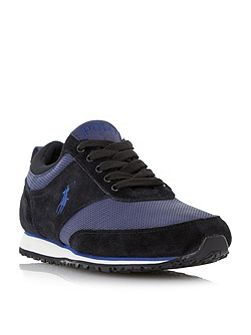 Ponteland colour block runner trainers