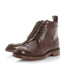 Billingham hi shine brogue boots