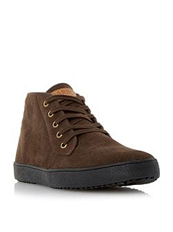 Barbour Hiltz suede chukka boots