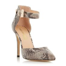 Christa two part pointed toe court shoes