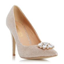 Bellaa jewel trim court shoes