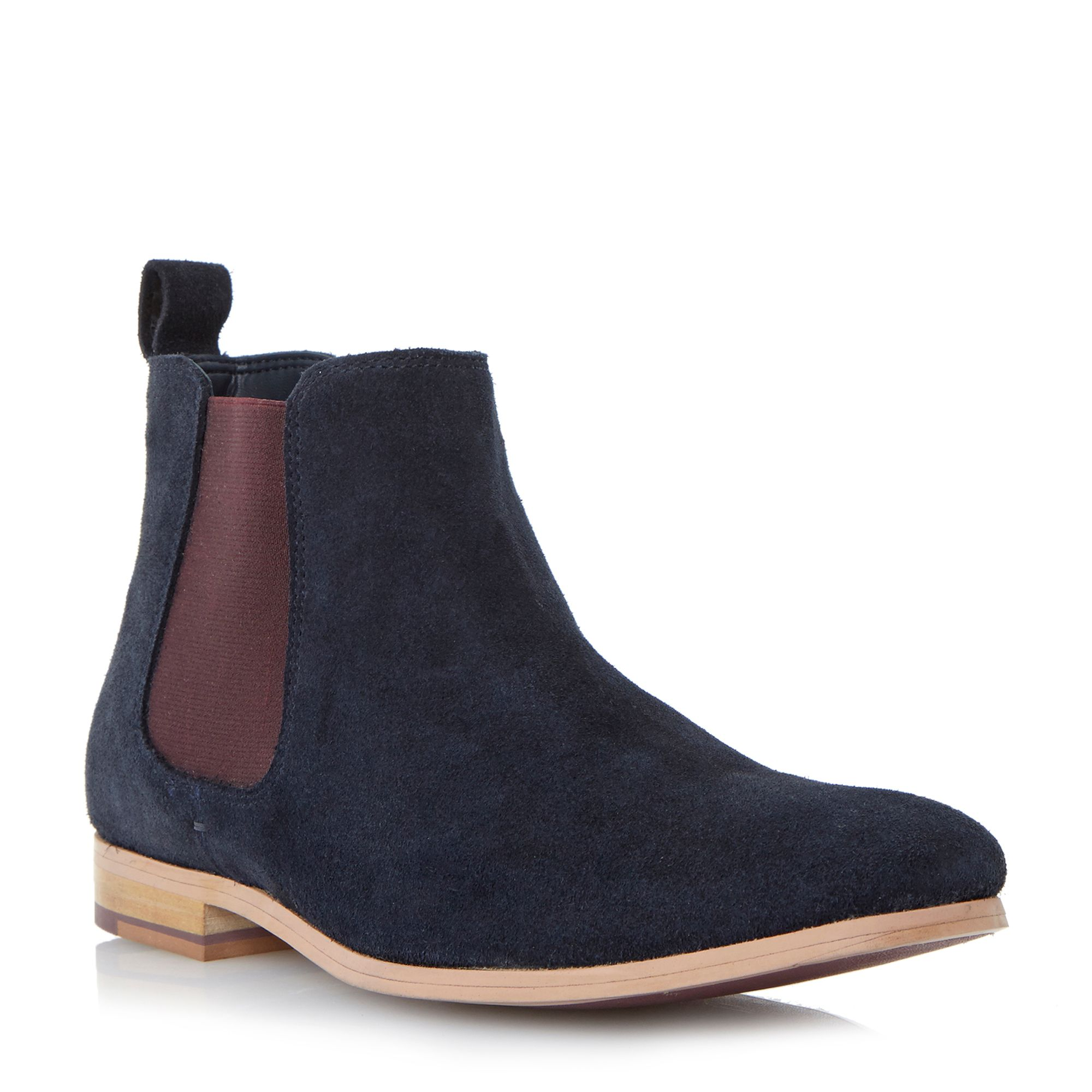 Linea Accessories Coaching Slip On Casual Chelsea Boots