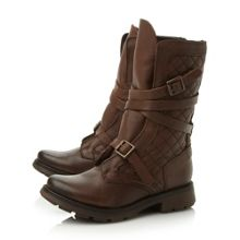 Bounty sm quilted leather calf boot