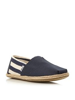 University Slip On Casual Espadrilles