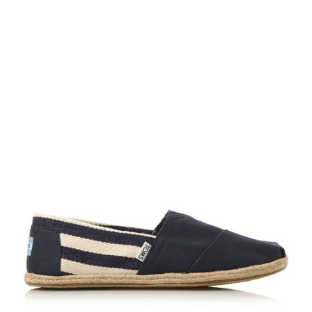 Toms University Slip On Casual Espadrilles
