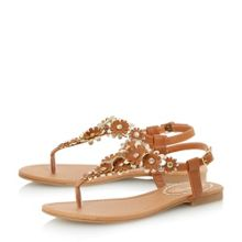 Head Over Heels Nolina flower detail sandal