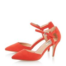Carmelle two part court shoe