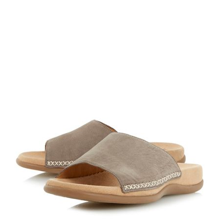 Gabor Eagle padded footbed mule flat sandal