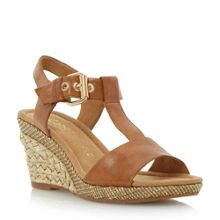 Karen buckle wedge sandal