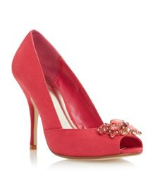 Dimmera embellished court shoe