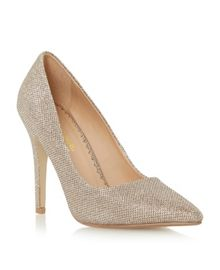 Audrine pointed toe court shoes