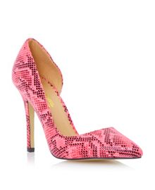 Clarris point d`orsay court shoe
