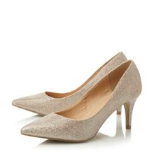 Atonie low pointed court shoes