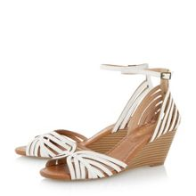 Kruiz multi strap peep toe wedge sandals